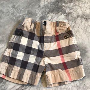 AUTHENTIC Burberry Children's plaid shorts